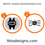 icons samples of electric surplus