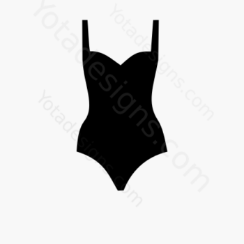 icons of women's swimming suit