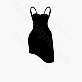 icon of women's dresses