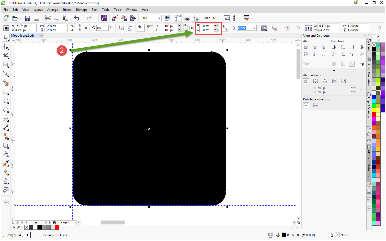 how to create icons tutorial 2