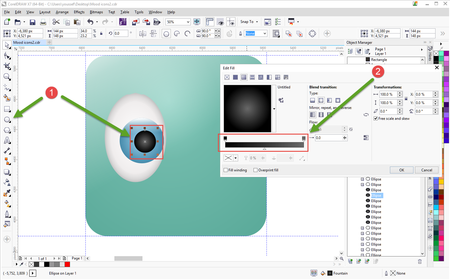 how to create icons tutorial 8