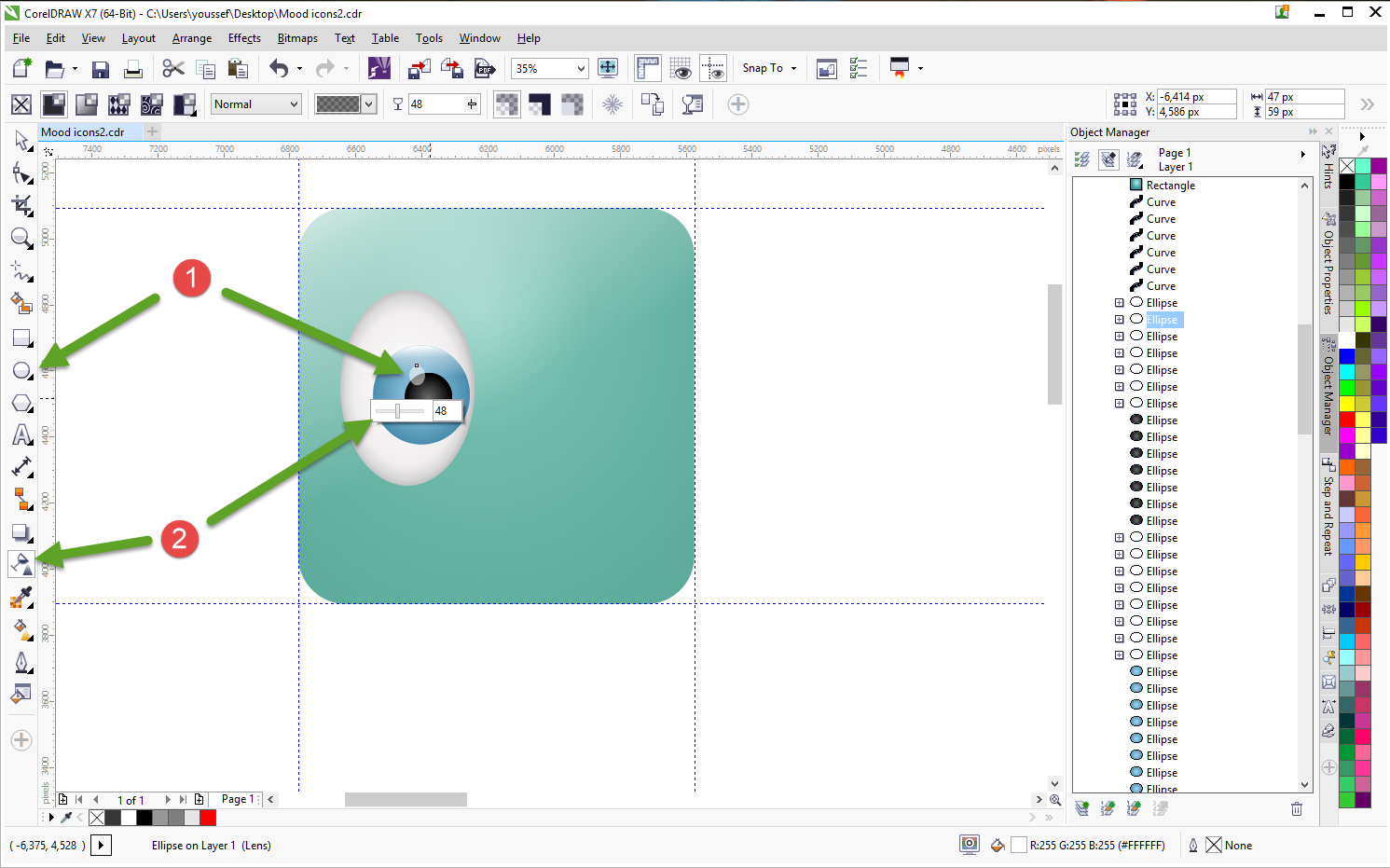 how to create icons tutorial 9
